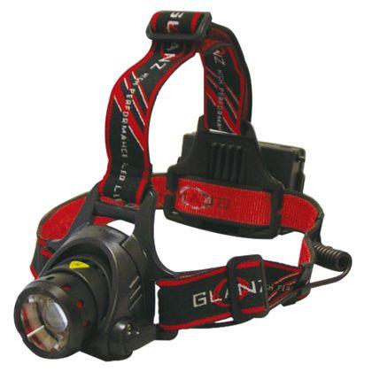 GLANZ 充電式ヘッドライト ブラック MF9100HR