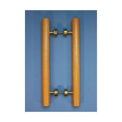 SOWA 天然木 丸棒ハンドル(両面用)W 300mm 13041