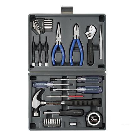 角利産業 MULTICRAFTブック型工具セット  BK-31