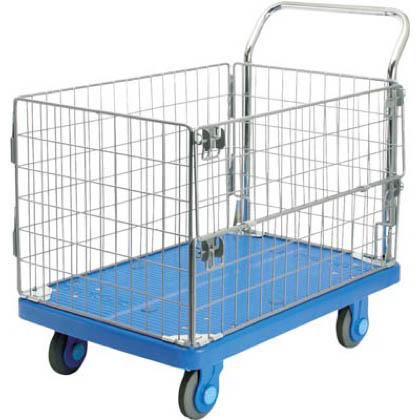 カナツー 静音PLA300網樹脂製運搬車 (×1台)  PLA300AMIM1
