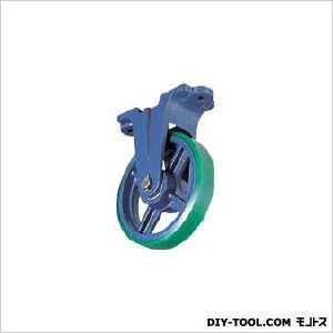 京町産業車輛 ダクタイル製金具付ウレタン車輪200MM (1個)  FU200