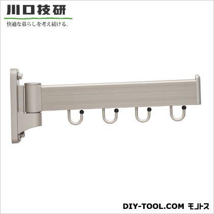 川口技研 屋外用物掛け金物フリーアーム ステンカラー 全長:400mm 3方向で使用可能(0°-90°-180°) FA-404-ST 1 本