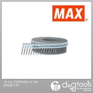 マックス プラシート連結釘 スクリュ (FSP25Q9-S OH) 200本×20巻×2箱