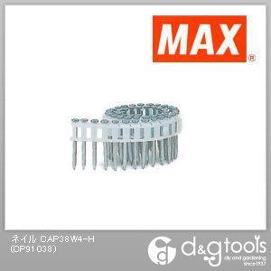 マックス プラシート連結釘 スクリュ(鋼板焼入釘) (CAP38W4-H) 50本×20巻×2箱