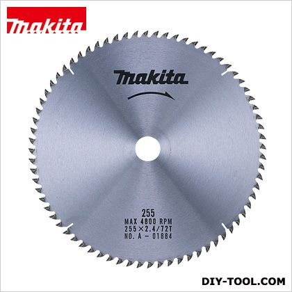 (A-01884) 木 木工用チップソー 木工 255MM×72P 木工用 木工・アルミ用チップソー マキタ チップソー