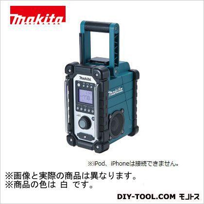 マキタ 充電式現場ラジオ 本体のみ (バッテリ・ 充電器別売り) 白 (MR102W)
