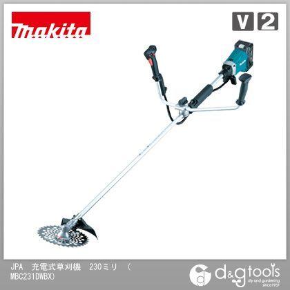 マキタ/makita JPA 充電式 草刈機(バッテリー&充電器付き) 230ミリ MBC231DWBX