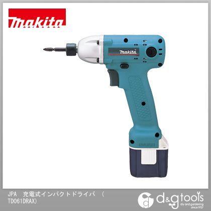 マキタ JPA 充電式インパクトドライバ (バッテリー&充電器付き) (TD061DRAX)