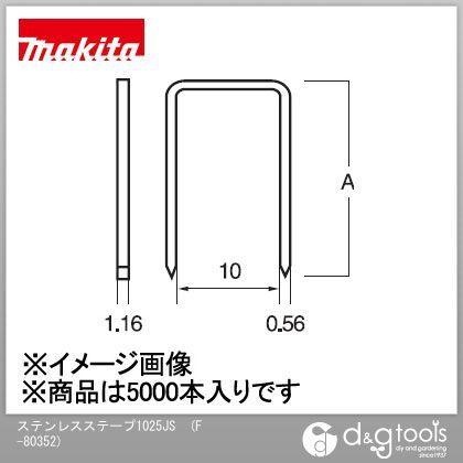 マキタ ステープル 1025JS (F-80352) (5000本入×1箱)
