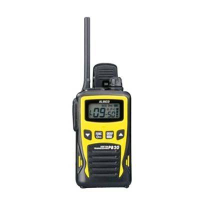 マイゾックス 特定小電力トランシーバー イエロー (DJ-PB20Y) myzox レーザー墨出器・距離計 レーザー墨出器