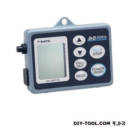 マイゾックス データロガー 記憶計(温湿度タイプ) 乾電池 ※センサー別売 (SK-L200THIIα) myzox レジャー用品 便利グッズ(レジャー用品)