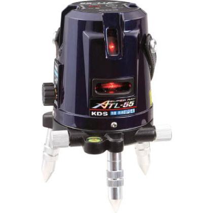 KDS レーザー墨出器スーパーレイ55受光器・三脚付 ATL55RSA 1台 ムラテックKDS レーザー墨出器・距離計 レーザー墨出器