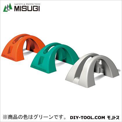 ミスギ サイクルポジション グリーン L500×W300×H235mm※製品の性質上ヒケ・伸縮がある為±5mmとなります。  CP-500 1 台