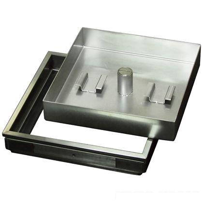 水上金属 ファースト 正規品 ステンレス フロアーハッチ モルタル用小口径 新作送料無料 枡幅W200×D200mm FSM-200