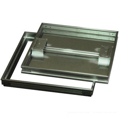 水上金属 ファースト ステンレス フロアーハッチ モルタル用歩道用 蓋寸W700×D700mm FM-700