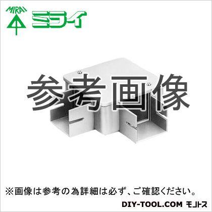 未来工業 プラスチックダクト用 分岐ボックス カベ白 PDB-1020LW