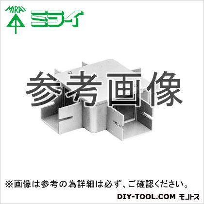 未来工業 プラスチックダクト用 分岐ボックス グレー (PDB-10204)