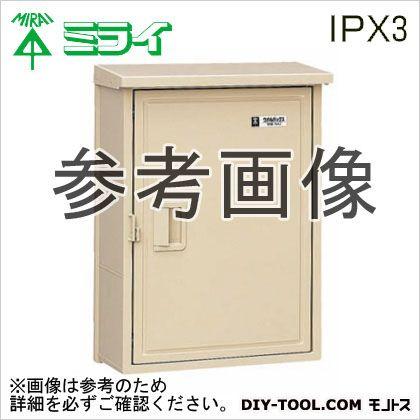未来工業 ウオルボックス (プラスチック製防雨スイッチボックス)屋根付〈タテ型〉  WB-5AM
