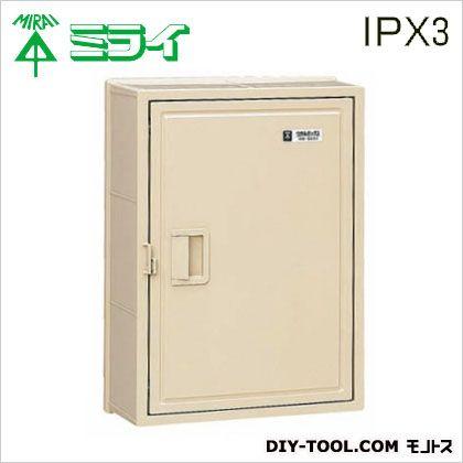 未来工業 ウオルボックス(プラスチック製防雨スイッチボックス)屋根無〈タテ型〉  WB-5AOJ