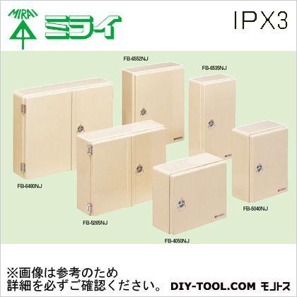 未来工業 強化ボックス (FRP樹脂製防雨常設ボックス)屋根無〈タテ型〉  FB-6535NJ
