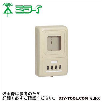 未来工業 電力量計ボックス〈 分岐ブレーカ(2P1E・20A)〉  WP4-303J