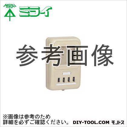 未来工業 電力量計ボックス〈ELB付(2P30A・OC付)〉  WP2-202HKM