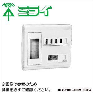 未来工業 単相二線式リミッタースペース (2P30AOC付漏電しゃ断器)  MP6-206K