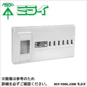 未来工業 単相三線式リミッタースペース (中性線欠相保護付3POC付漏電しゃ断器)  MP61-304K