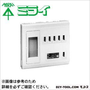 未来工業 単相三線式リミッタースペース (中性線欠相保護付3POC付漏電しゃ断器)  MP6-304K