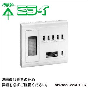 未来工業 単相三線式リミッタースペース (中性線欠相保護付3POC付漏電しゃ断器)  MP6-305K
