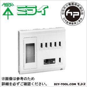 未来工業 高性能住宅用分電盤 単相三線式リミッタースペース (中性線欠相保護付3POC付漏電しゃ断器)  MPH6-304K