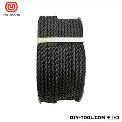 まつうら工業 PEロープ ドラム巻 黒 9mm×150m