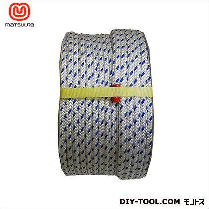 まつうら工業 パイレンダブルコード ドラム巻 青白 10mm×100m