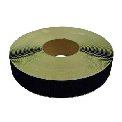 まつうら工業 粘着付マジックテープ A面フック (PN) 黒 50mm巾X25m