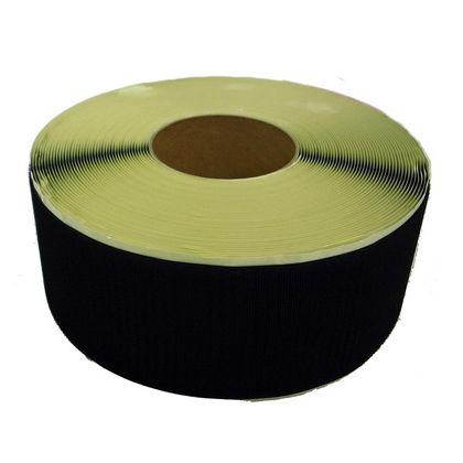 まつうら工業 粘着付マジックテープ A面フック (PN) 黒 100mm巾X25m