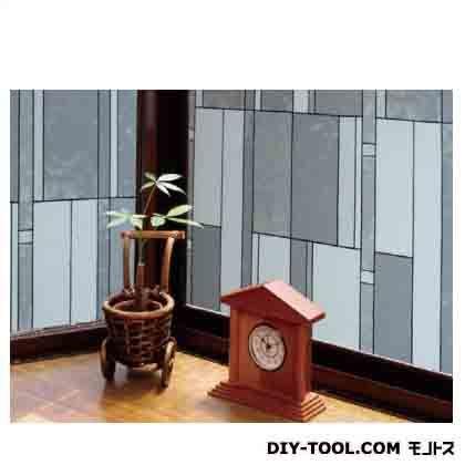 明和グラビア 飛散防止効果のある窓飾りシート ブラック (GHR-9205) 明和グラビア 補修剤・補修用品 窓ガラス用