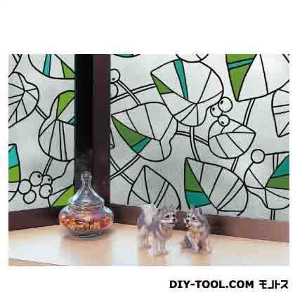 明和グラビア 窓飾りシート グリーン (GER-9225) 明和グラビア 補修剤・補修用品 窓ガラス用