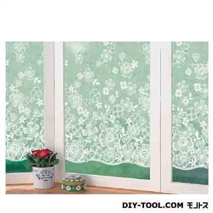 明和グラビア 窓飾りシート(レース調) ホワイト (GMLR-9210) 明和グラビア 補修剤・補修用品 窓ガラス用