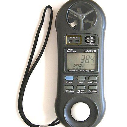 マザーツール マルチ環境測定器  LM-8000