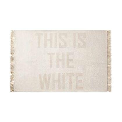 【お得】 メルクロス 1215 THISISTHEWHITE(フリンジラグ) ホワイト ホワイト 140×200cm 140×200cm 1215, 粉河町:badd3a1d --- supercanaltv.zonalivresh.dominiotemporario.com