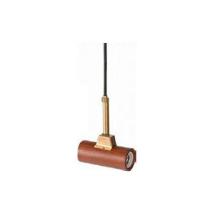 メルクロス ジェネラル2灯用ソケット(木製) ブラウン コード長:50cm 2443