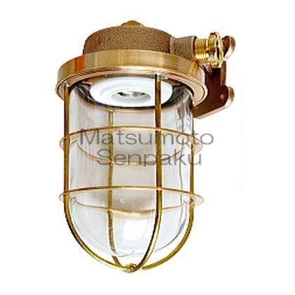 松本船舶 マリンランプ ウォールライトシリーズ R2号ブラケット LEDランプ装着モデル ゴールド (R2-BR-G)