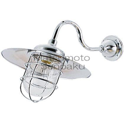 松本船舶 マリンランプ ポーチライトシリーズ R2S号アクアライト LEDランプ装着モデル シルバー (R2S-AQ-S)