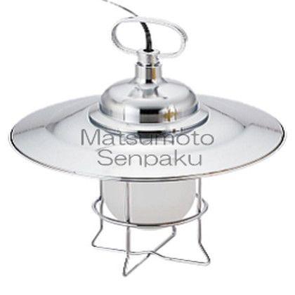 松本船舶 マリンランプ スタンドライトシリーズ テーブルライト LEDランプ装着モデル シルバー (TB-RT-S)