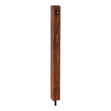 MELS 木調水栓柱 木調カラ? 1200mm (HI-1WDx1200DB)