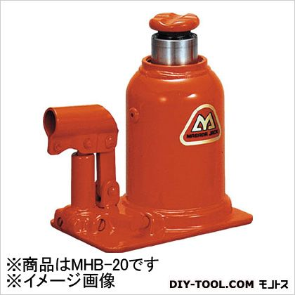マサダ 標準オイルジャッキ20TON MHB-20 1個