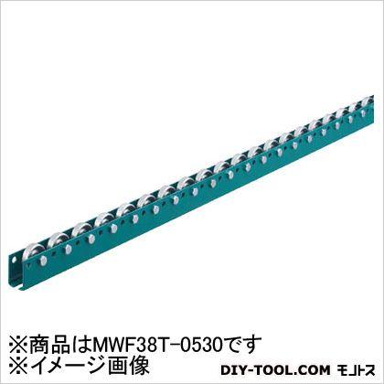 三鈴 単列型スチールホイールコンベヤ 径38XT12XD6 (×1)  MWF38T0530