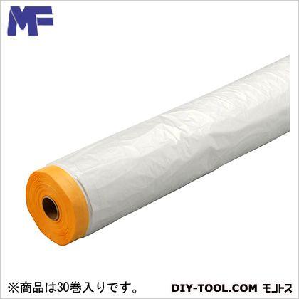 エムエフ 和紙テープ付き養生マスカー 1800×35m巻 30 巻
