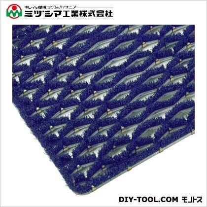 ミヅシマ工業 ニューマット E5 ブルー 500mm×1000mm 402-0980