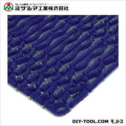 ミヅシマ工業 ニューマット G6 ブルー 600mm×900mm 402-0940